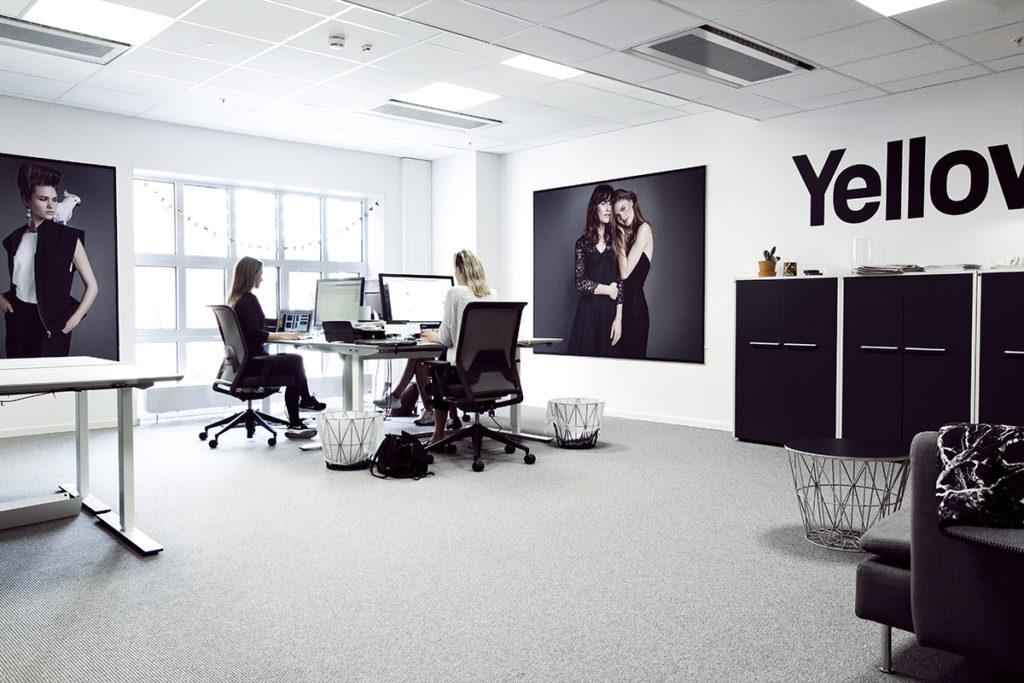 Stort og åpent kontor