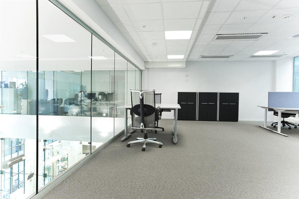 Stort åpent kontor